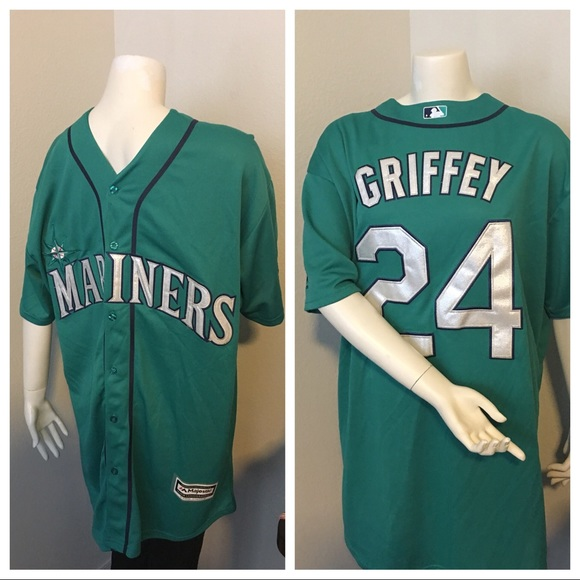 best website 528c9 91db3 Majestic Seattle Mariners Ken Griffey Jr jersey NWT
